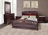 Ліжко з натурального дерева Флоренція, фото 3