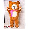 Надувной костюм Мишка Тедди