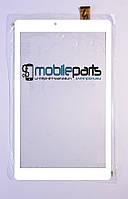 """Оригинальный Сенсор (Тачскрин) для планшета 10.1"""" Irbis TZ101 51pin (250x150mm)(Белый)"""