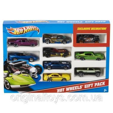 Hot Wheels набор из 9 машинок