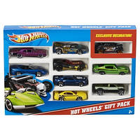 Hot Wheels набір з 9 машинок