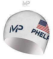 Стартовая шапочка для плавания MP Limited Edition Race (White)