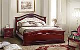 Ліжко двоспальне дерев'яне Маргарита, фото 3