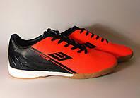 Футбольные футзалки Restime 44,45,46 размеры, кроссовки для футбола, футбольная обувь, прошитый носок, бампы