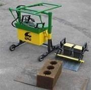 Віброверстат 1 ІКС для виробництва будівельних блоків