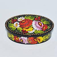 Украинские сувениры Шкатулка для украшений. Мальва