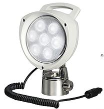 Прожектор светодиодный 7х3w,12/24v, шарнирное крепление
