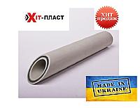 Полипропиленовая труба (Fiber) d90 со стекловолокном Hit Plast d90 pn20 полипропиленовая труба