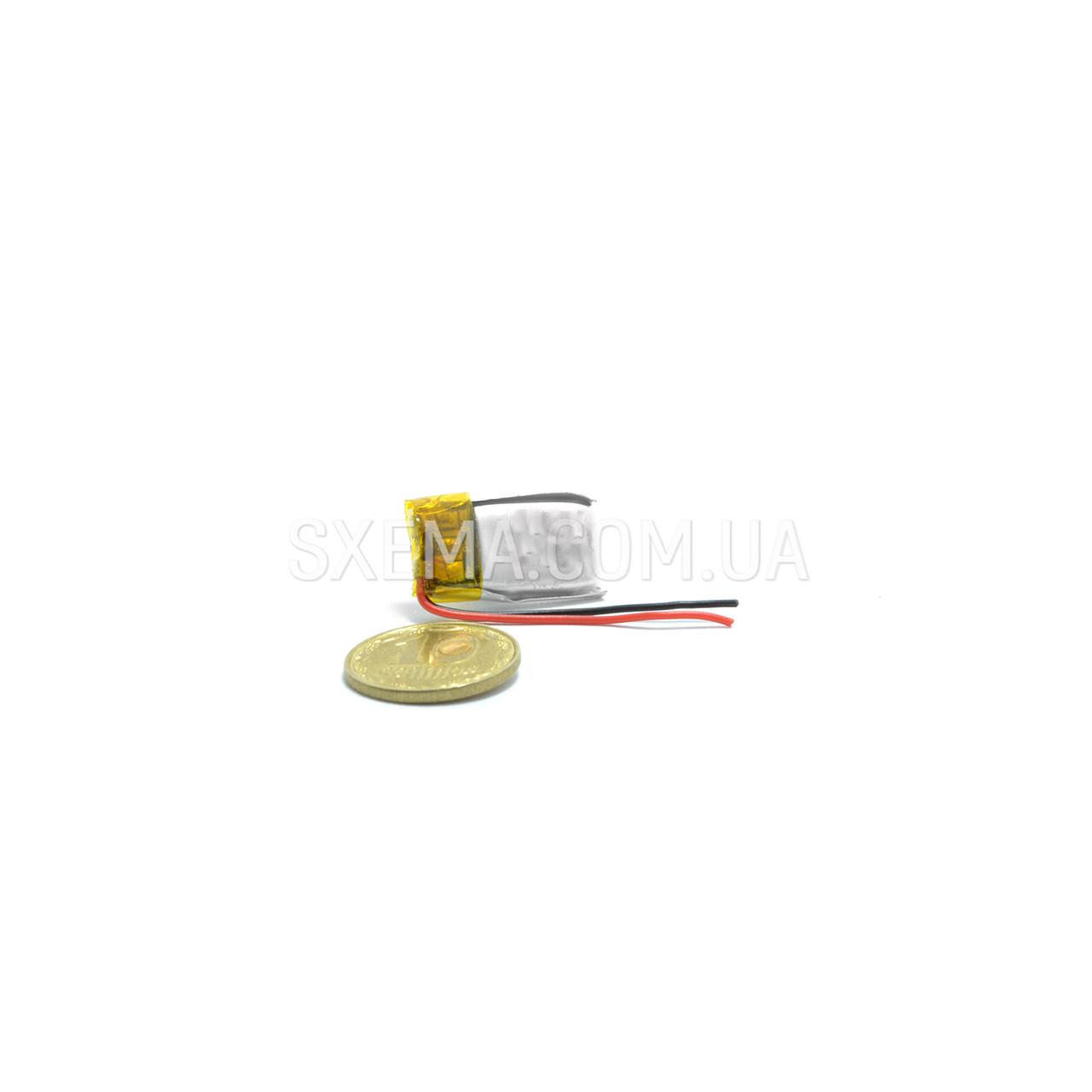Аккумулятор универсальный 041017 (Li-ion 3.7В 150мА·ч), (17*10*4 мм)
