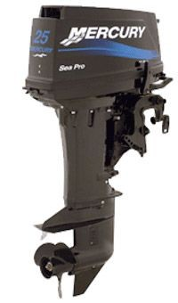 Лодочный мотор Mercury 25M SEA PRO