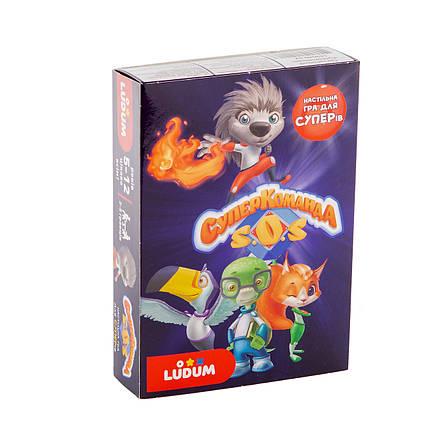 Настольная игра для детей 5-12 лет Суперкоманда ТМ LUDUM