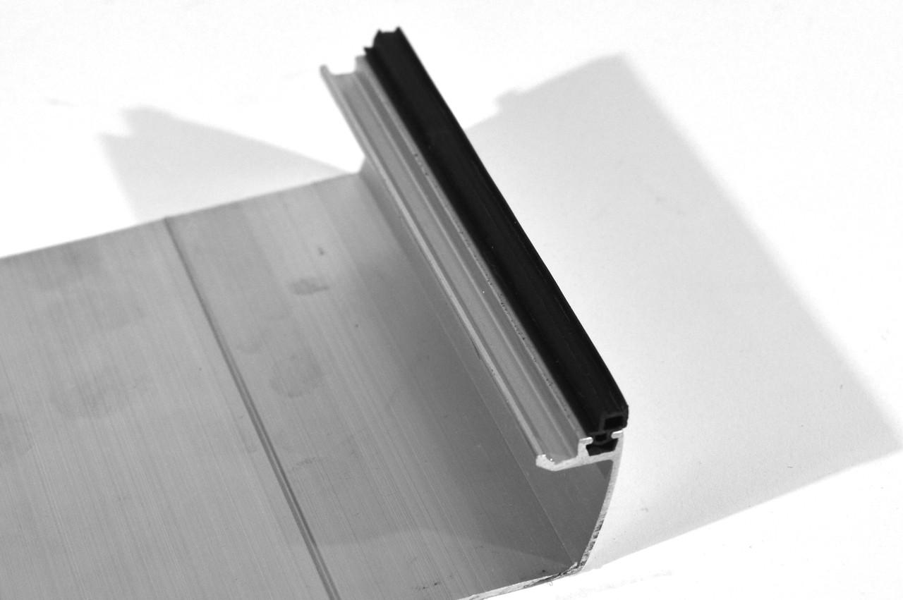 """""""ODF-16-04-00"""" Уплотнитель для декоративной планки, под стекло 16 мм"""