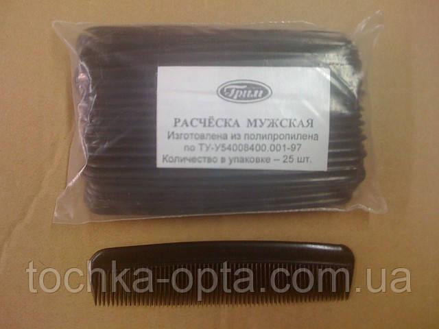 Расческа мужская 25 шт в упаковки