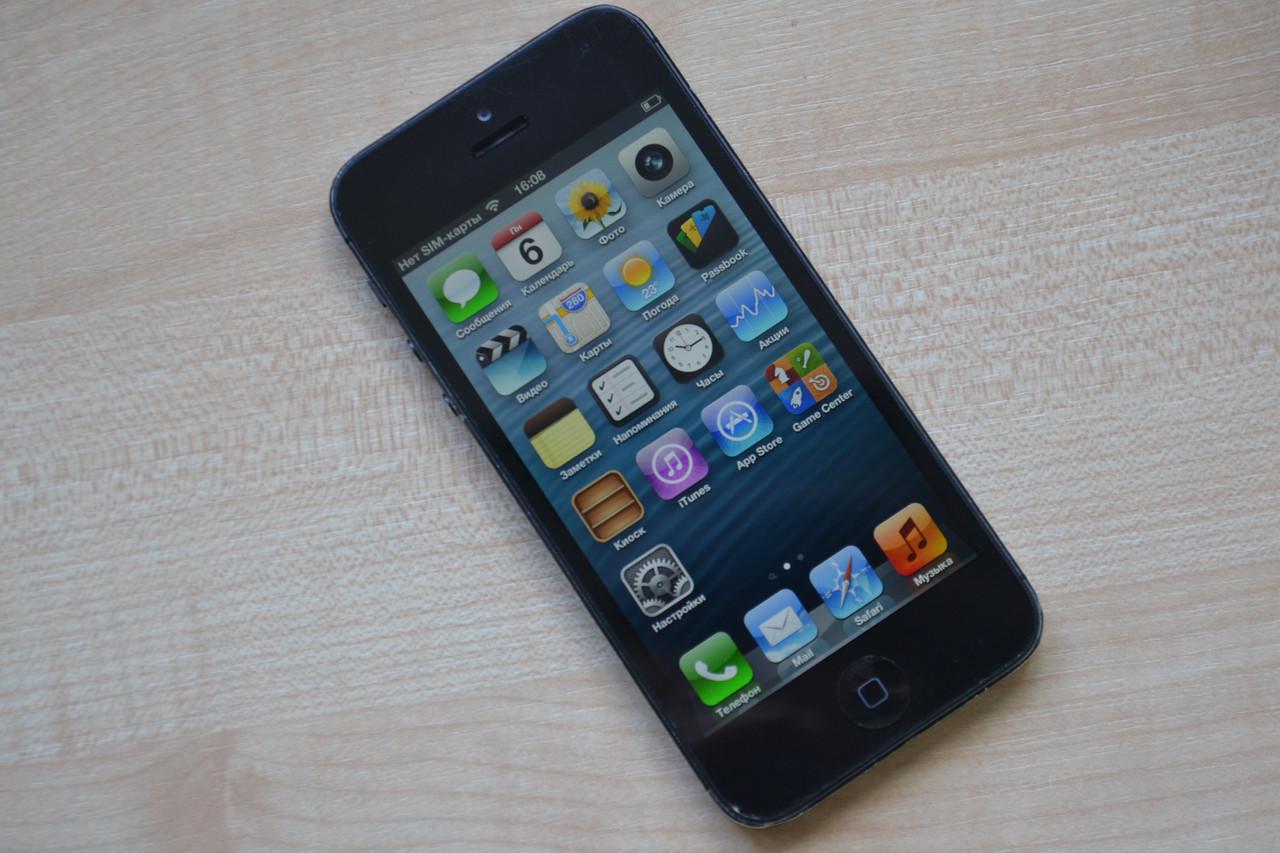 Apple Iphone 5 32Gb Black Neverlock Оригинал!   продажа 9a35ff4d20