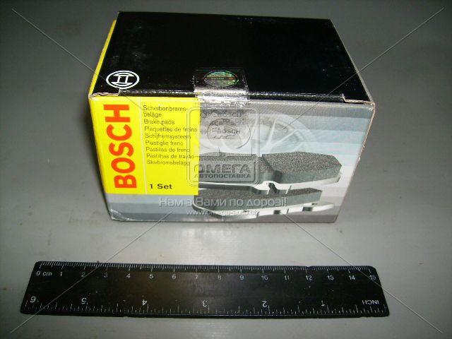 Колодки тормозные ВАЗ 2108, 2109, 21099, 2113, 2114, 2115 передние (пр-во Bosch). 0 986 491 700. Ціна з ПДВ.