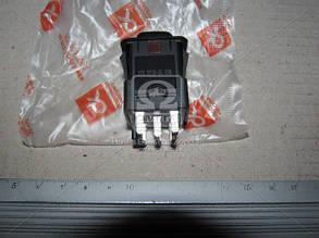 Выключатель аварийной сигнализации ВАЗ 2108, 2109, 21099, 2113, 2114, 2115 . 376.3710-05.03М. Ціна з ПДВ.