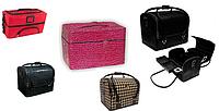 Чемоданы кожаные, сумки для мастеров