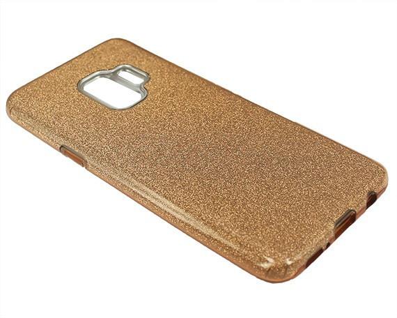 "Накладка Samsung S9 ""Shine"" Золотая"