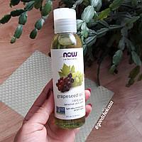 Масло виноградной косточки Now Foods Solutions Grapeseed Oil