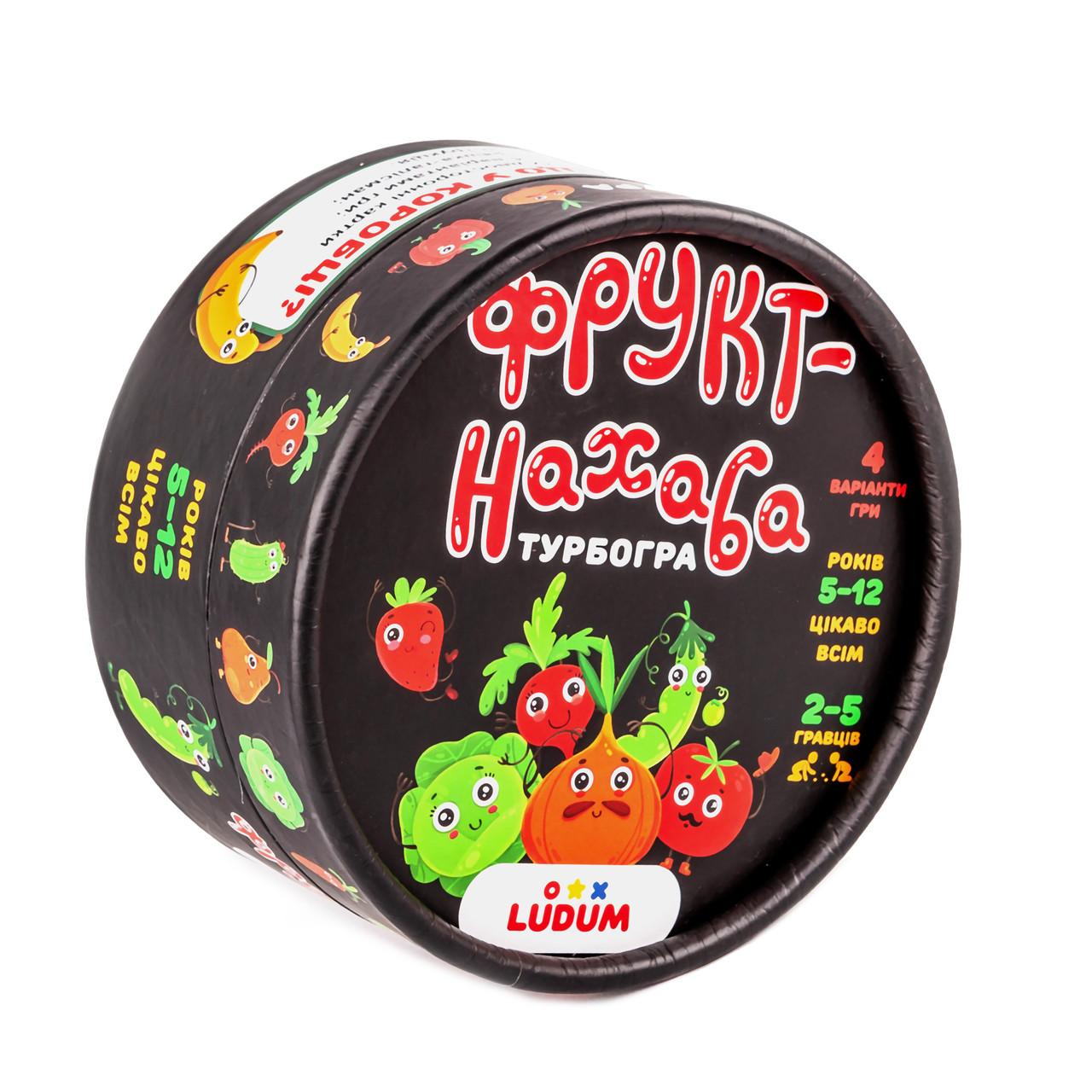 Настольная игра для детей 5-12 лет Наглый фрукт TM LUDUM