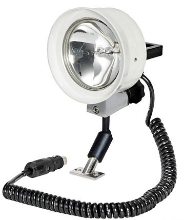 Прожектор поисковый в лодку высокой яркости дальность света до 500 м 12 V, 100 W, фото 2