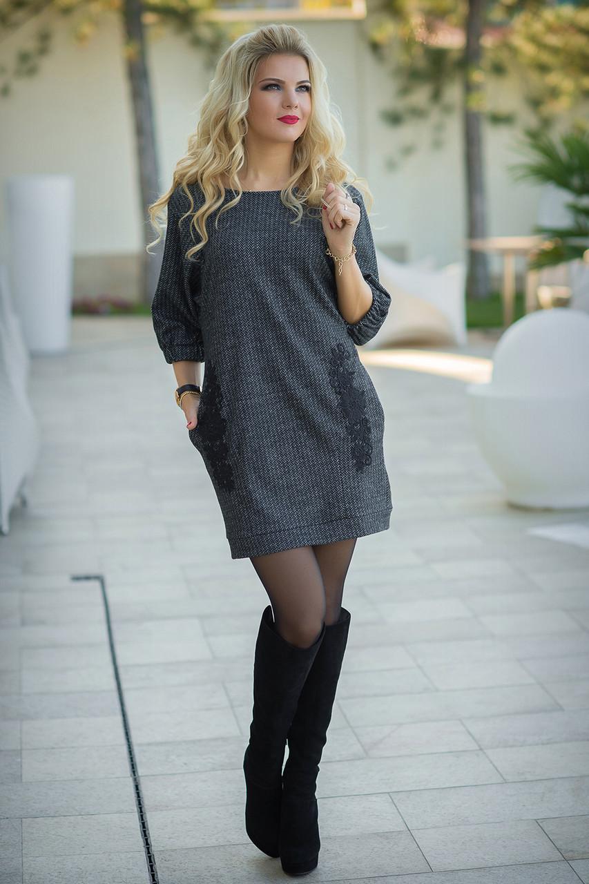 Платье трикотажное теплое - LILIT ODESSA - женская одежда - опт - розница в  Одессе 3cdcc7e60a3