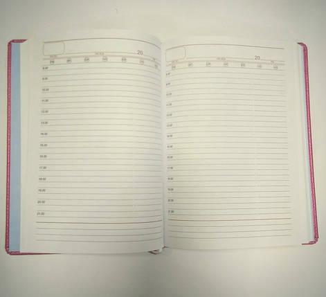 Ежедневник А5 не датирован метализированная обложка, фото 2