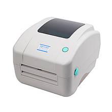 Принтер этикеток Xprinter XP-DT425B White (XP-425B)