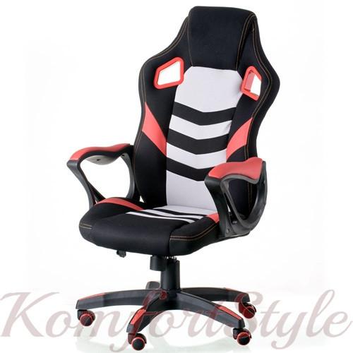 Кресло Abuse black/red