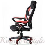 Кресло Abuse black/red, фото 3