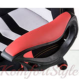 Кресло Abuse black/red, фото 6