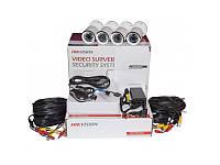 Hikvision Комплект TurboHD видеонаблюдения Hikvision DS-J142I/7104HGHI-F1
