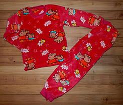 Утепленная детская пижама для девочки Пеппа