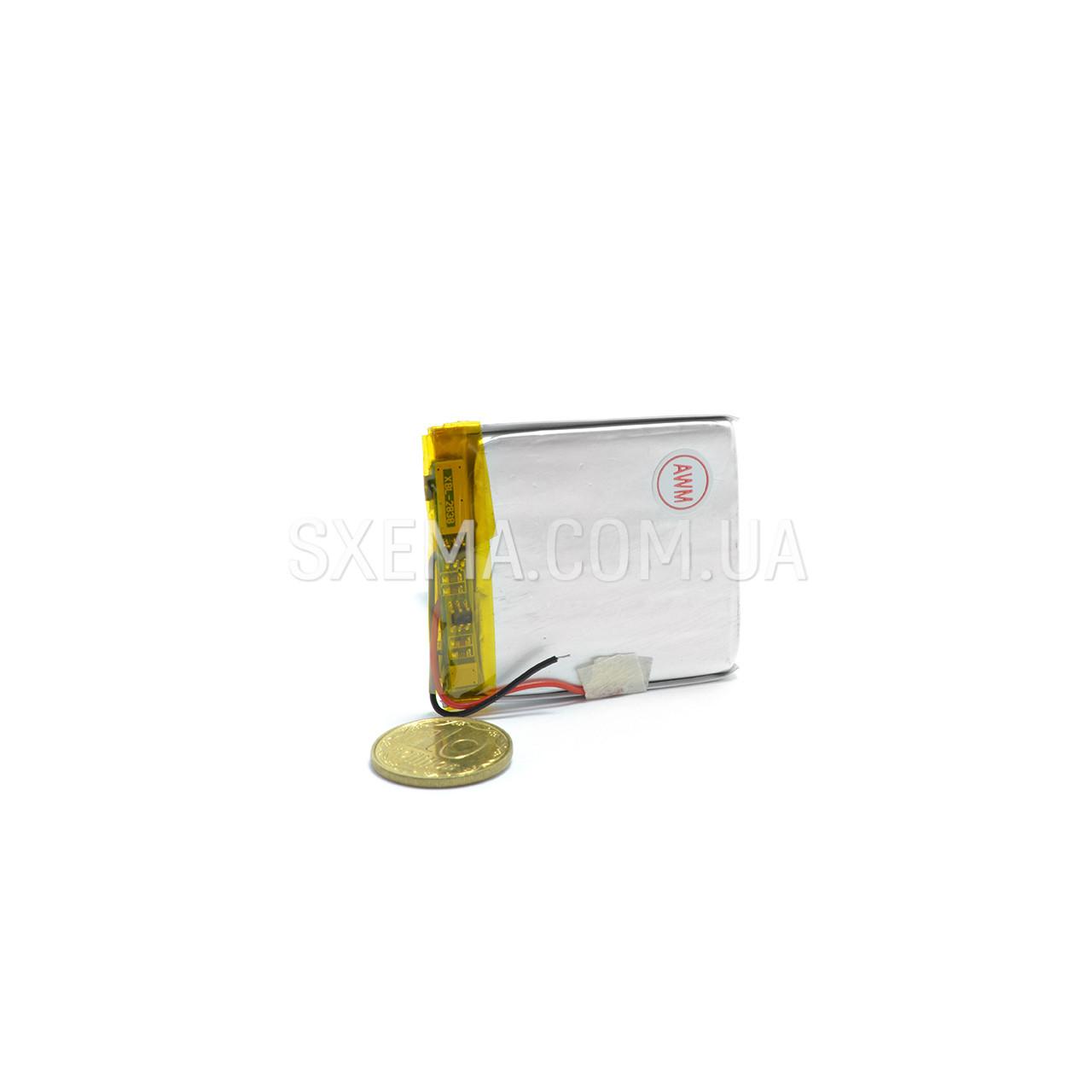 Аккумулятор универсальный 043450 (Li-ion 3.7В 1000мА·ч), (50*34*4 мм)