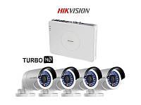 Hikvision Комплект TurboHD видеонаблюдения Hikvision DS-J142I/7104HGHI-SH