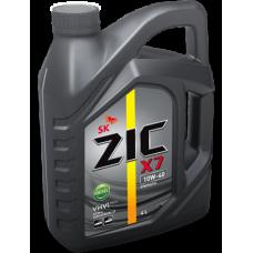 ZIC 10W-40 X7 DIESEL (API CI-4,ACEA E7,A3/B3/B4) 4л Масло моторное