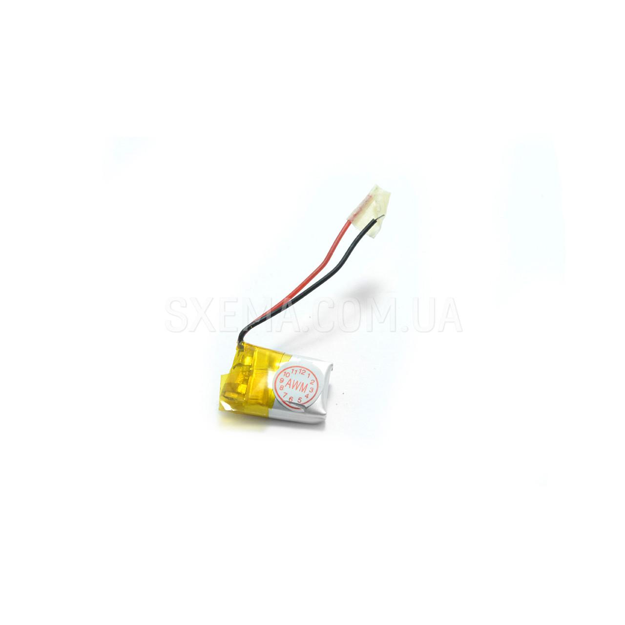 Аккумулятор универсальный 041012 (Li-ion 3.7В 140мА·ч), (12*10*4 мм)