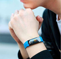 Фитнес-браслет Smart band CD02 Blue Гарантия 1 месяц, фото 3