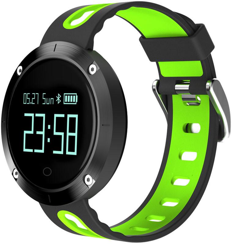 Фитнес-браслет Smart Band DM58 Black/Green Гарантия 1 месяц