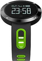 Фитнес-браслет Smart Band DM58 Black/Green Гарантия 1 месяц, фото 3