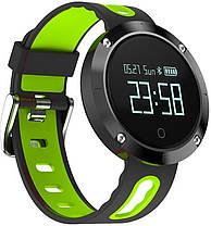 Фитнес-браслет Smart Band DM58 Black/Green Гарантия 1 месяц, фото 2