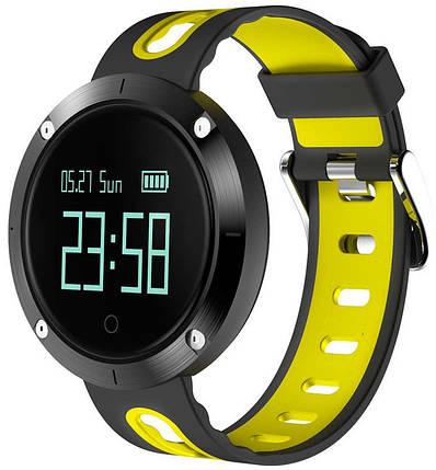 Фитнес-браслет Smart Band DM58 Black/Yellow Гарантия 1 месяц, фото 2