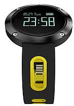 Фитнес-браслет Smart Band DM58 Black/Yellow Гарантия 1 месяц, фото 3