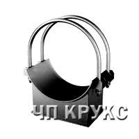 Опоры двуххомутовые трубопроводов ТЭС и АЭС ОСТ 108.275.38-80