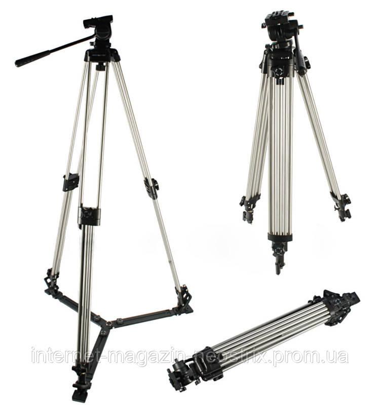 Профессиональный видеоштатив Weifeng ST-695 (82 - 194 см)
