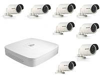 Dahua Комплект видеонаблюдения Dahua IP-улица 8 (1Мп)