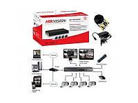 Hikvision Комплект TurboHD видеонаблюдения Hikvision DS-J142I/7104HQHI-F1/N