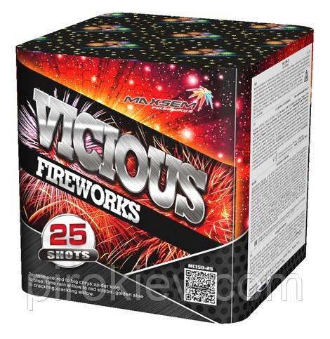 """Салют """"Vicious"""" MC150-25 (40 мм. 25 выстрелов)"""