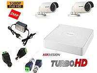 Hikvision Комплект видеонаблюдения Hikvision Turbo-HD Улица - 2 (2 Мп)