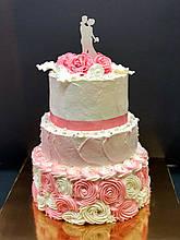 """Свадебный торт на заказ """"Танго вдвоем"""""""